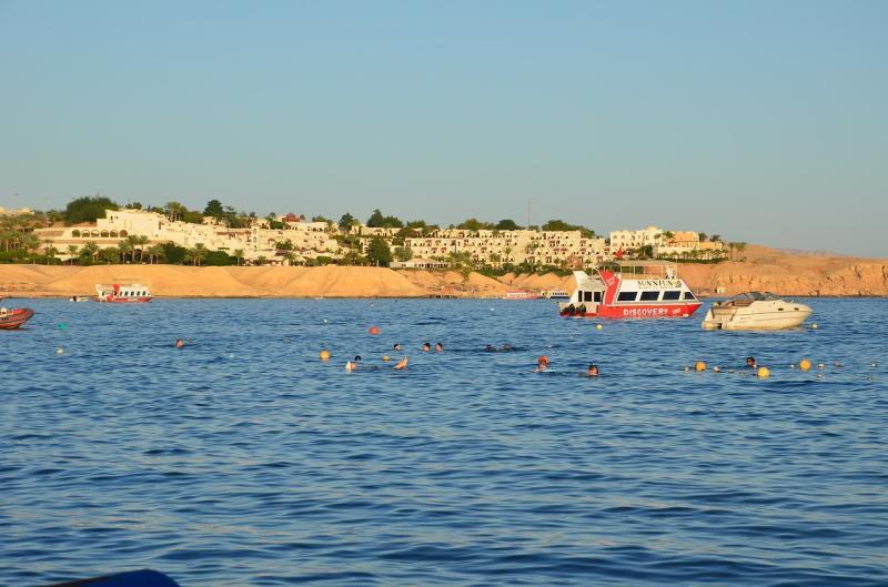 Abbildung 2: Sharm el Sheikh ist gerade für Taucher ein echtes Paradies - hier bleiben keinerlei Wünsche offen.